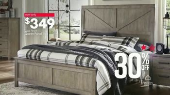 Ashley HomeStore Stars & Stripes Event TV Spot, 'Queen Bed' Song by Midnight Riot - Thumbnail 6