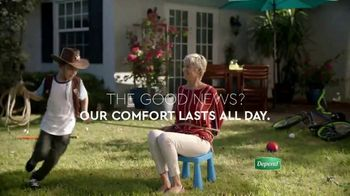 Depend FIT-FLEX Underwear for Women TV Spot, 'Playtime Protection' - Thumbnail 2