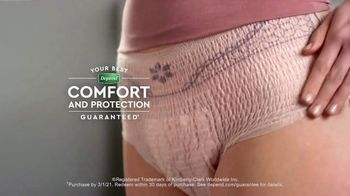 Depend FIT-FLEX Underwear for Women TV Spot, 'Playtime Protection' - Thumbnail 7