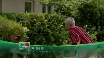 Depend FIT-FLEX Underwear for Women TV Spot, 'Playtime Protection' - Thumbnail 9
