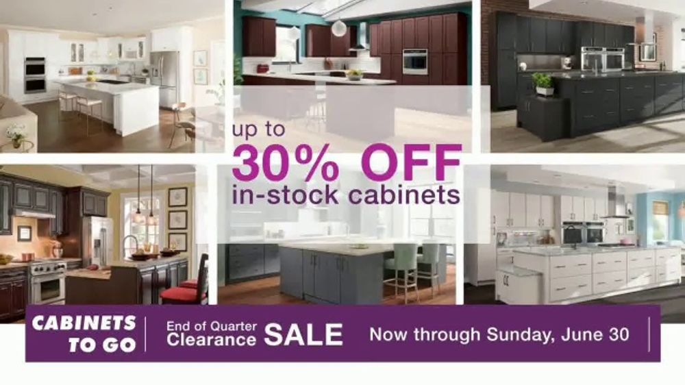 Cabinets To Go End Of Quarter Clearance Sale Tv Commercial Why Ctg Ispot Tv