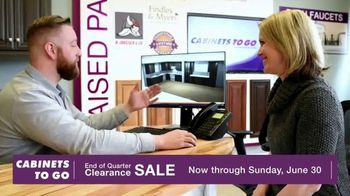 Cabinets To Go End of Quarter Clearance Sale TV Spot, 'Why CTG' - Thumbnail 8