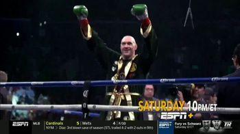 ESPN+ TV Spot, 'Exclusive Live Fights: Fury vs. Schwarz' - Thumbnail 1