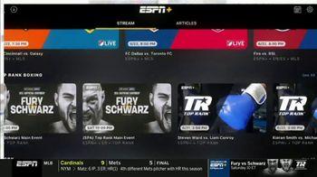 ESPN+ TV Spot, 'Exclusive Live Fights: Fury vs. Schwarz' - Thumbnail 5