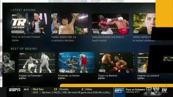 ESPN+ TV Spot, 'Exclusive Live Fights: Fury vs. Schwarz' - Thumbnail 7