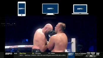 ESPN+ TV Spot, 'Exclusive Live Fights: Fury vs. Schwarz' - Thumbnail 8
