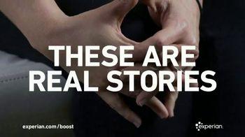 Experian Boost TV Spot, 'Customer Testimonials'