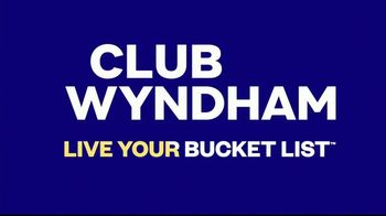 Wyndham Worldwide TV Spot, 'Club Wyndham' Song by Tim McMorris - Thumbnail 9