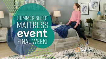 Ashley HomeStore Summer Sleep Mattress Event TV Spot, 'Final Week: Ashley Cash' Song by Midnight Riot - Thumbnail 2