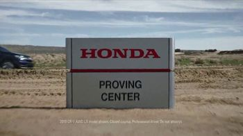 Honda 4th of July Sales Event TV Spot, 'CR-V: Unexpected Bumps' [T2]