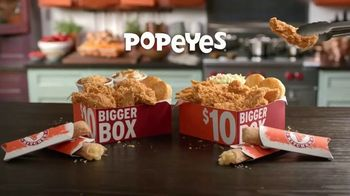 Popeyes $10 Bigger Box TV Spot, 'More Is More' - Thumbnail 1