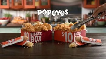 Popeyes $10 Bigger Box TV Spot, 'More Is More' - Thumbnail 2