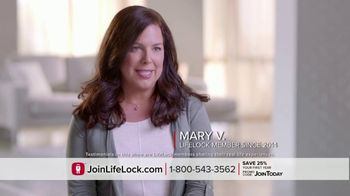 LifeLock TV Spot, 'DSP1 V2B Tom120 25' - Thumbnail 3