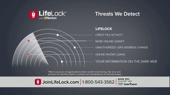LifeLock TV Spot, 'DSP1 V2B Tom120 25' - Thumbnail 4