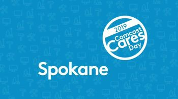 Comcast Corporation TV Spot, '2019 Comcast Cares Day: Spokane' - Thumbnail 1