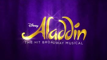 Aladdin the Musical TV Spot, 'It's Time to Get Your Wish On' - Thumbnail 1