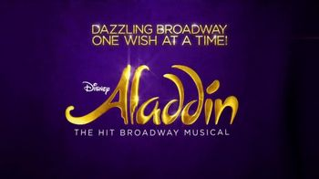 Aladdin the Musical TV Spot, 'It's Time to Get Your Wish On' - Thumbnail 10
