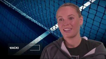 Tennis Industry Association TV Spot, 'Tips: Restring Racquet' Feat. Caroline Wozniacki - Thumbnail 2