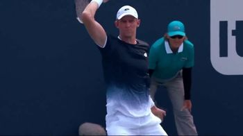 Tennis Industry Association TV Spot, 'Tips: Changing Racquets' Featuring Kevin Anderson - Thumbnail 1