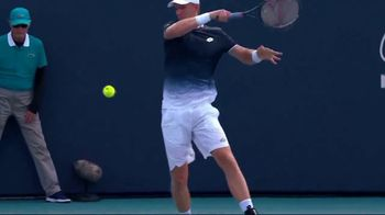 Tennis Industry Association TV Spot, 'Tips: Changing Racquets' Featuring Kevin Anderson - 73 commercial airings