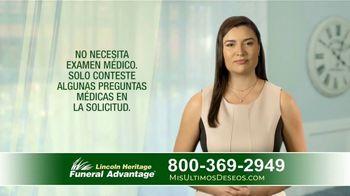 Lincoln Heritage Funeral Advantage TV Spot, 'Papá' [Spanish] - Thumbnail 7