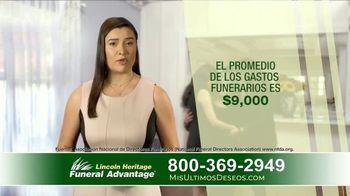 Lincoln Heritage Funeral Advantage TV Spot, 'Papá' [Spanish] - Thumbnail 4