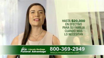 Lincoln Heritage Funeral Advantage TV Spot, 'Papá' [Spanish] - Thumbnail 5