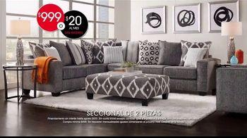 Rooms to Go TV Spot, 'Ahora: seccional de dos piezas' [Spanish] - Thumbnail 6