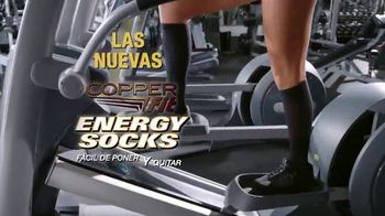 Copper Fit Energy Socks TV Spot, 'Rediseñadas: $19.99' [Spanish]