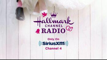 SiriusXM Satellite Radio TV Spot, 'Hallmark Channel Radio: June Weddings'