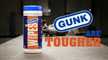 GUNK Degreasing Wipes TV Spot, 'Wipe Out Grease'