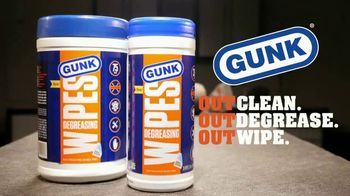 GUNK Degreasing Wipes TV Spot, 'Wipe Out Grease' - Thumbnail 7