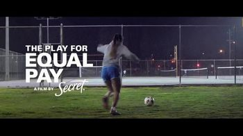 Secret TV Spot, 'The Play for Equal Pay' Featuring Alex Morgan, Abby Wambach - Thumbnail 1