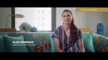 Secret TV Spot, 'The Play for Equal Pay' Featuring Alex Morgan, Abby Wambach - 15 commercial airings