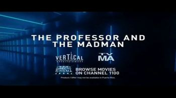 DIRECTV Cinema TV Spot, 'The Professor and the Madman' - Thumbnail 10