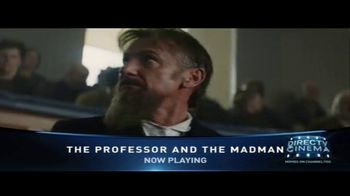 DIRECTV Cinema TV Spot, 'The Professor and the Madman' - Thumbnail 4