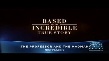 DIRECTV Cinema TV Spot, 'The Professor and the Madman' - Thumbnail 5