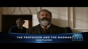 DIRECTV Cinema TV Spot, 'The Professor and the Madman' - Thumbnail 7