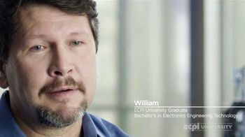 ECPI University TV Spot, 'William: Electronics Engineering Technology'