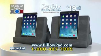 Pillow Pad TV Spot, 'Holds All Devices' - Thumbnail 10