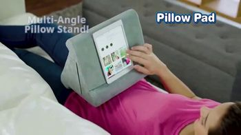 Pillow Pad TV Spot, 'Holds All Devices' - Thumbnail 2