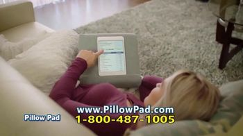 Pillow Pad TV Spot, 'Holds All Devices' - Thumbnail 5