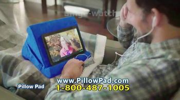 Pillow Pad TV Spot, 'Holds All Devices' - Thumbnail 6