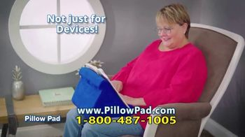 Pillow Pad TV Spot, 'Holds All Devices' - Thumbnail 7