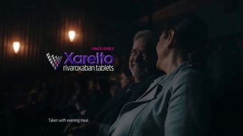 Xarelto TV Spot, 'Not Today: Movie Theater' - Thumbnail 4