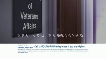 1-800-LAW-FIRM TV Spot, 'Military Hearing Loss Compensation' - Thumbnail 1