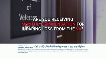 1-800-LAW-FIRM TV Spot, 'Military Hearing Loss Compensation' - Thumbnail 2