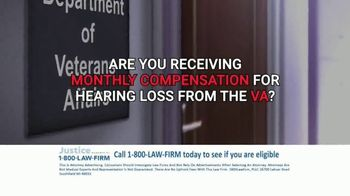 1-800-LAW-FIRM TV Spot, 'Military Hearing Loss Compensation' - Thumbnail 3