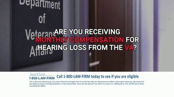 1-800-LAW-FIRM TV Spot, 'Military Hearing Loss Compensation' - Thumbnail 4