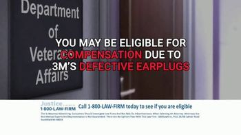 1-800-LAW-FIRM TV Spot, 'Military Hearing Loss Compensation' - Thumbnail 6
